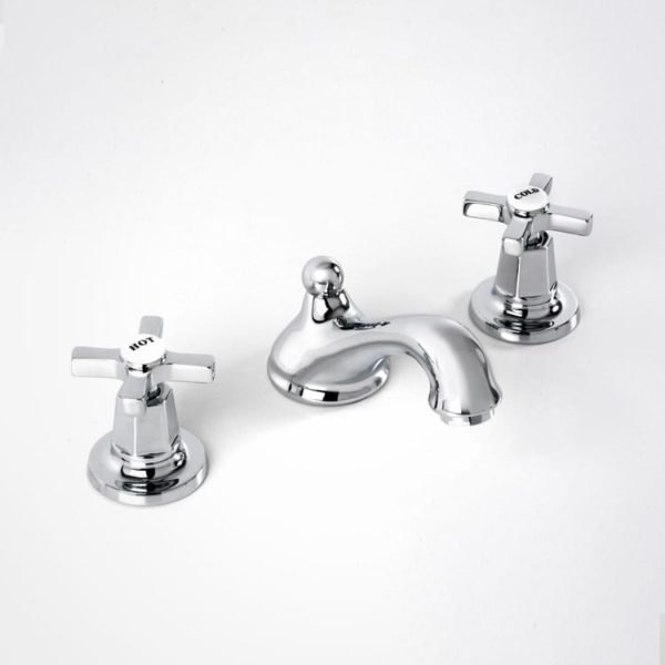 Britannia basin mixer 3 hole mixer art deco
