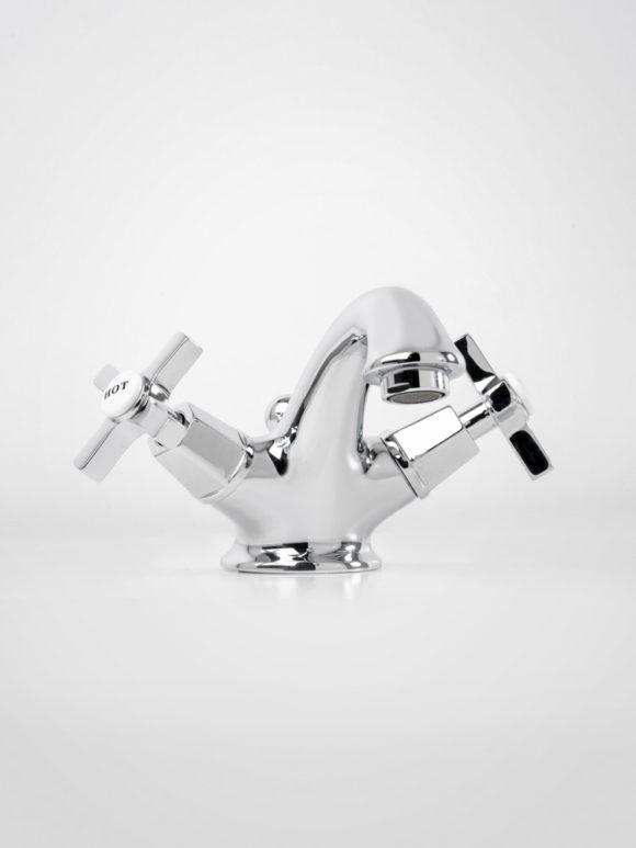 Britannia deco style basin mixer