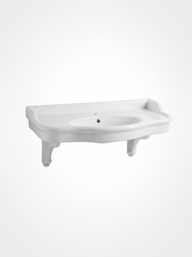 Curved Basin console