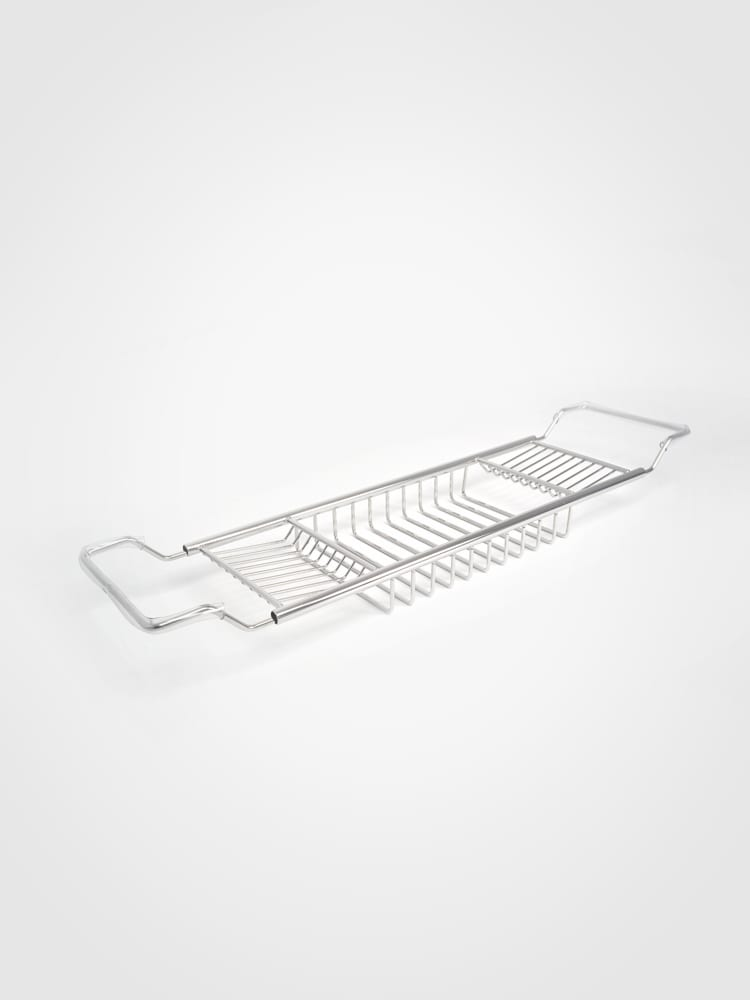 Stainless steel bath rack