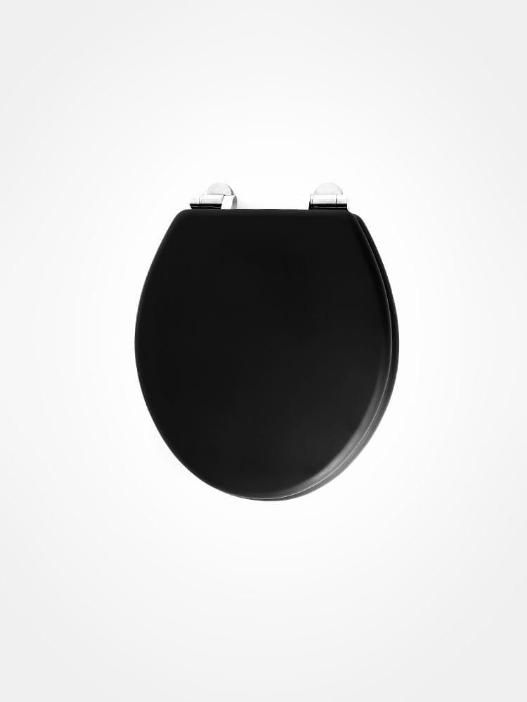Burlington Matte Black Toilet Seat Soft Close Home