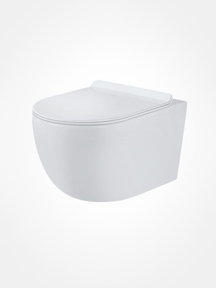 Cameo wall hung toilet pan