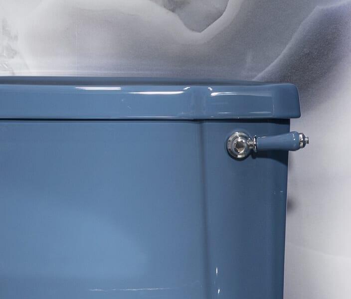 burlington blue toilet