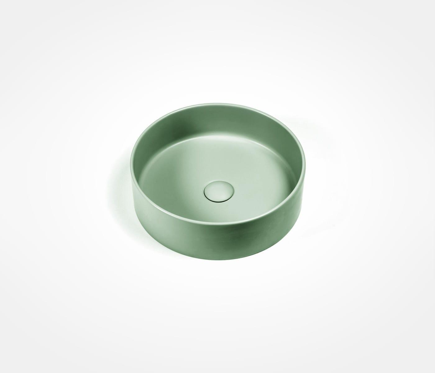 orb basin in aveo green victorian bathrooms