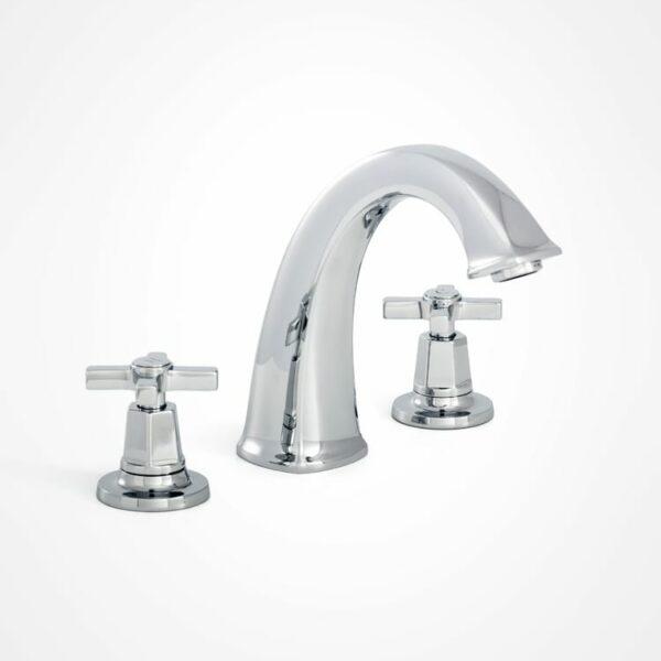 arté 3 hole modern bath mixer