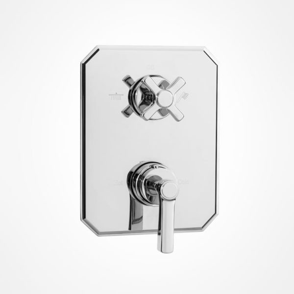 arté modern thermostatic shower mixer and diverter