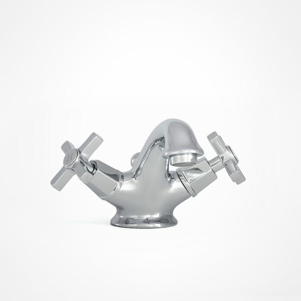 arté modern basin mixer with square tap heads