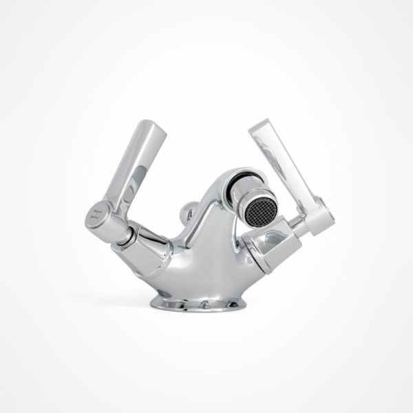 arté modern bidet mixer with square levers